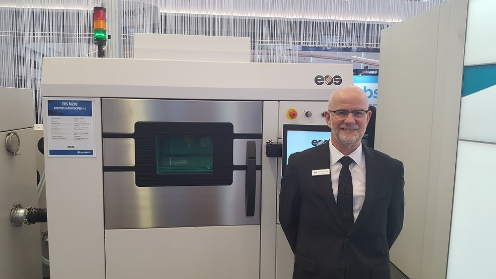 Additive Manufacturing is Changing the Dynamic: EOS' Glynn Fletcher Talks Metal 3D Printing Solutions
