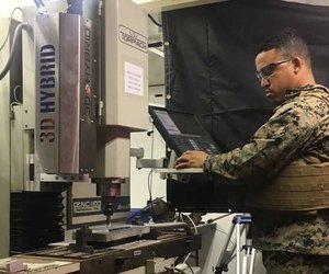 Metal AM in a Machine Shop? Ask the Marines