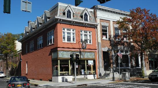 Find us on the corner of 4 East Main St. and Roanoke Ave. in Downtown Riverhead -