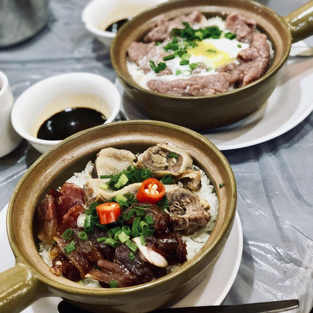 clay pot rice at sheung hei