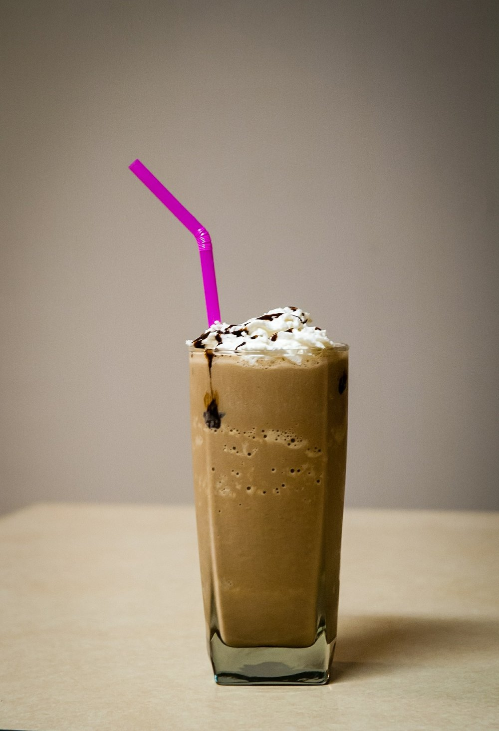 Healthy Thin Mint Shake - You won't want to share.