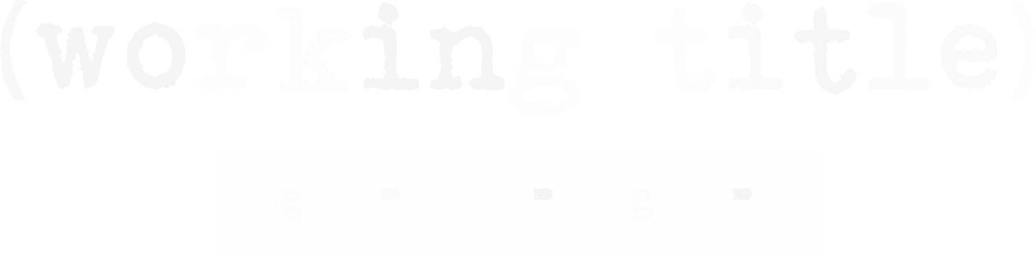 (working title) Burger Bar | Halal Cafe | Gourmet