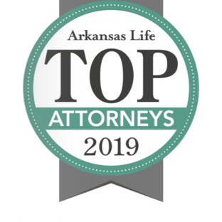 Voted one of the Top Attorneys in Arkansas by Arkansas Life magazine