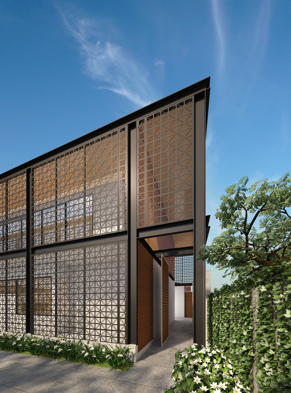Lee Syminton Oceanic Drive Addition Exterior