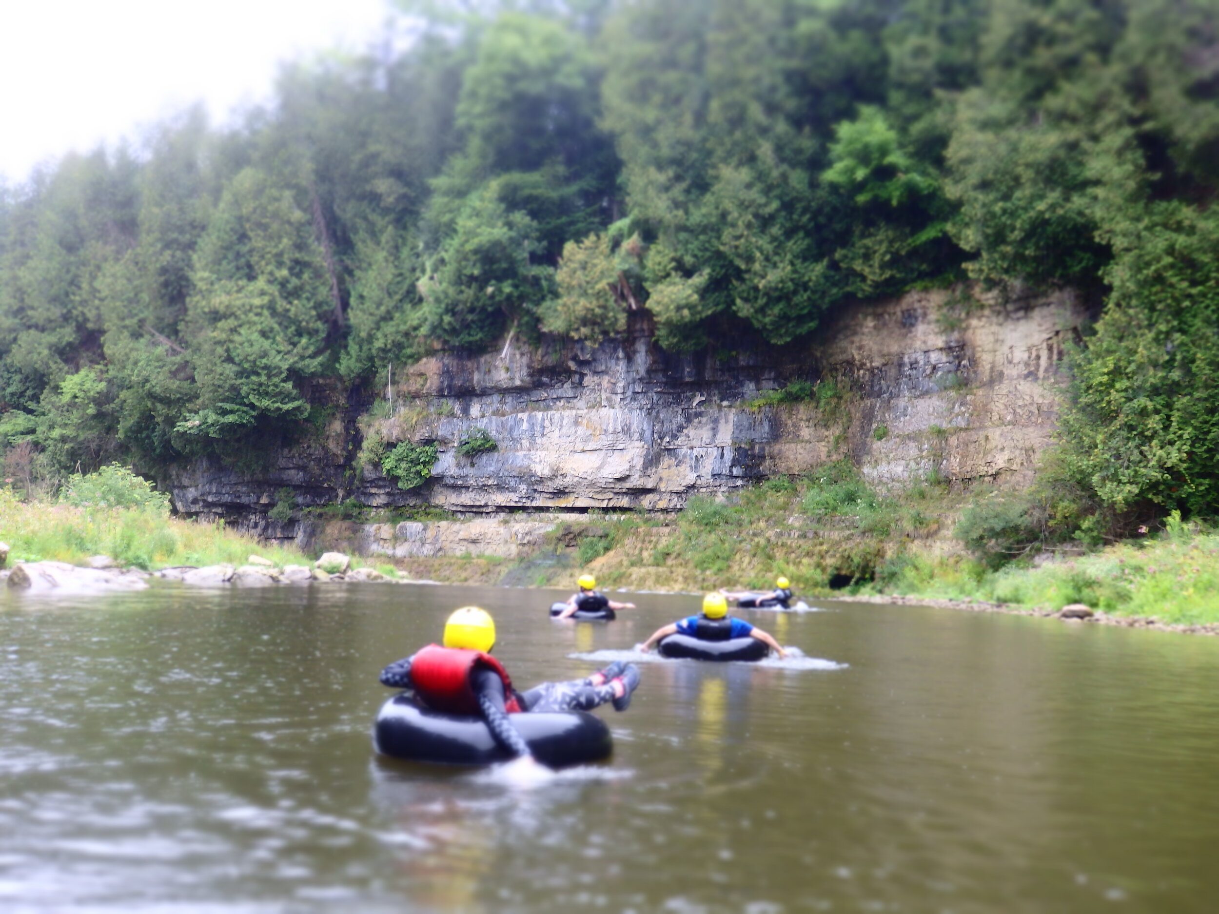 Day Trip - White Water Tubing In Elora Gorge — Lake Fever ...
