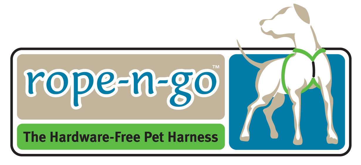 rope-n-go The Hardware-Free Pet Harness