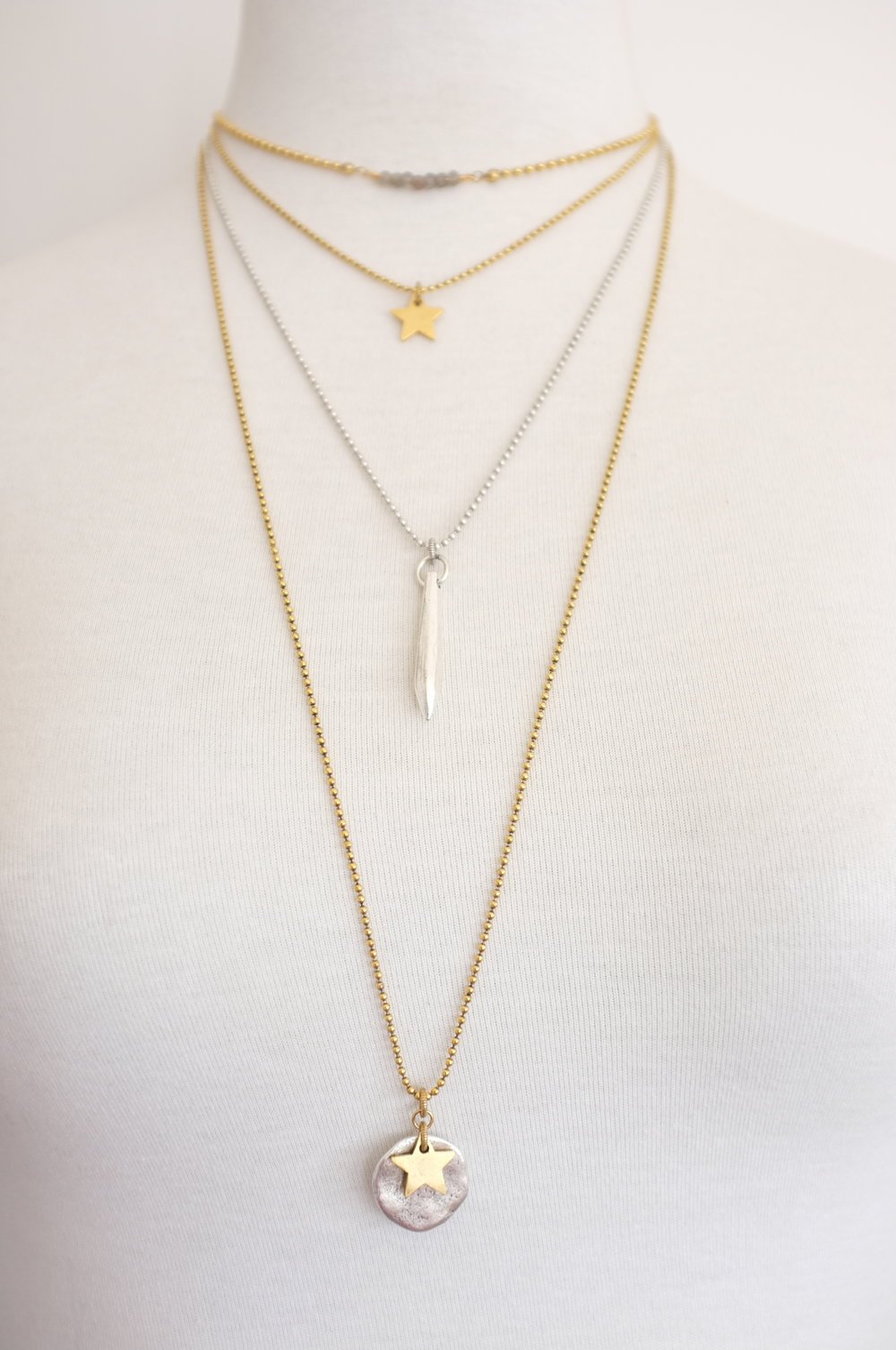 Ball chain designs are exact length. - No alteration clasp is available