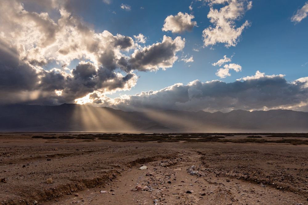 Helios Over the Desert - Death Valley