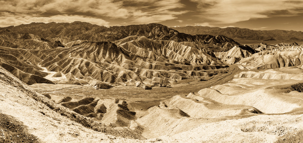 Gower Gulch - Death Valley