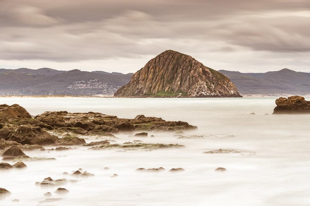 Morro Rock Across The Bay