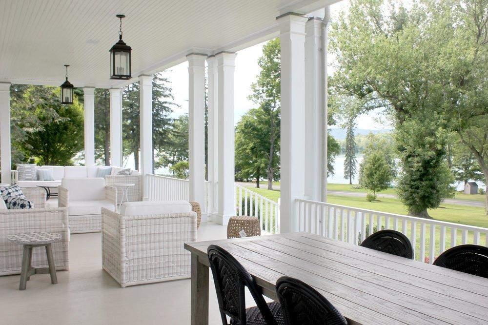 classic lake house - washington - CT