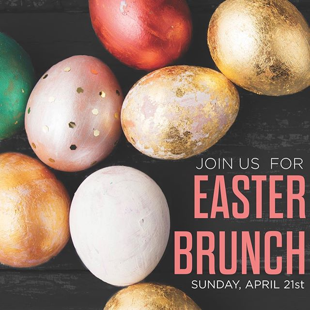 EASTER @ 747! Call or email us to reserve your table for our signature Easter Brunch Buffet! Check our stories for a run down of the menu! 🐣🐣 405.701.8622 // 747@coxinet.net