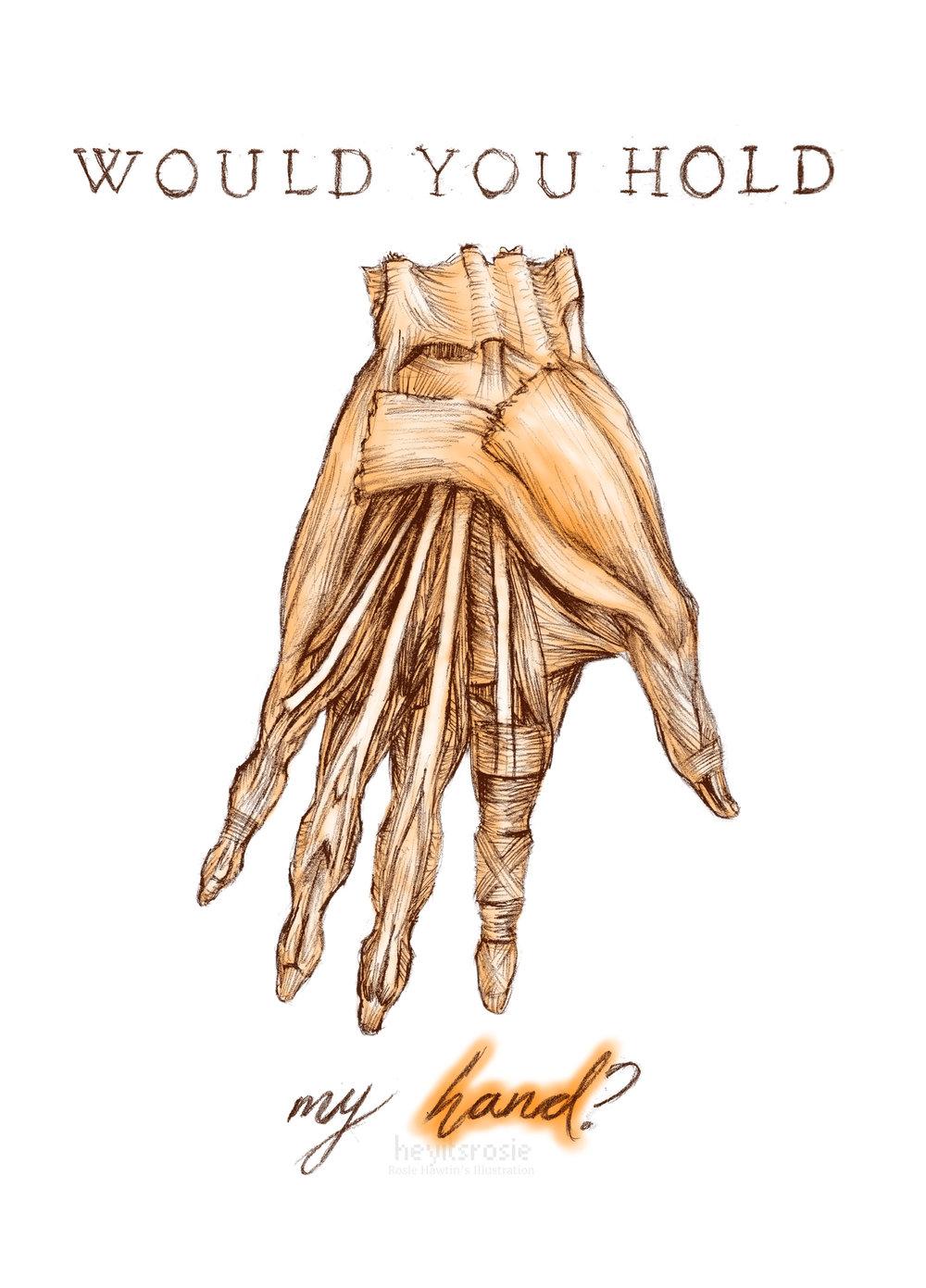 Anatomy Valentine - Hand