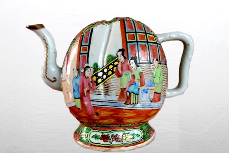 Cadogan Chinese Teapot
