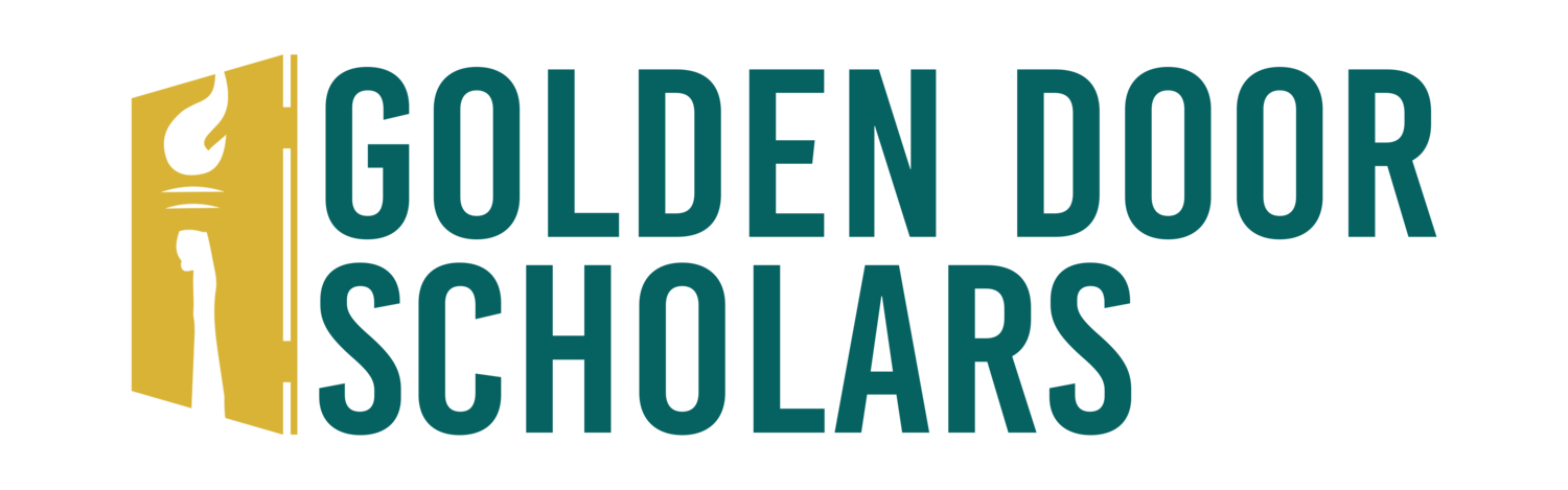 Golden Door Scholars Logo