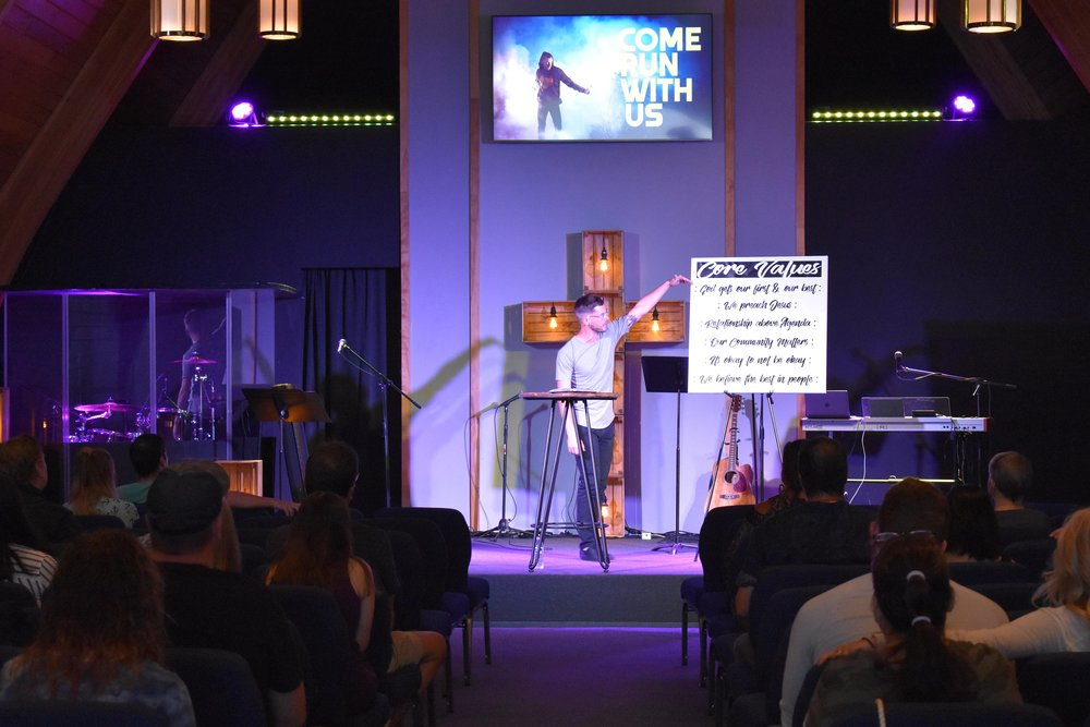 EVERY SUNDAY - 10AM - WELCOME HOME