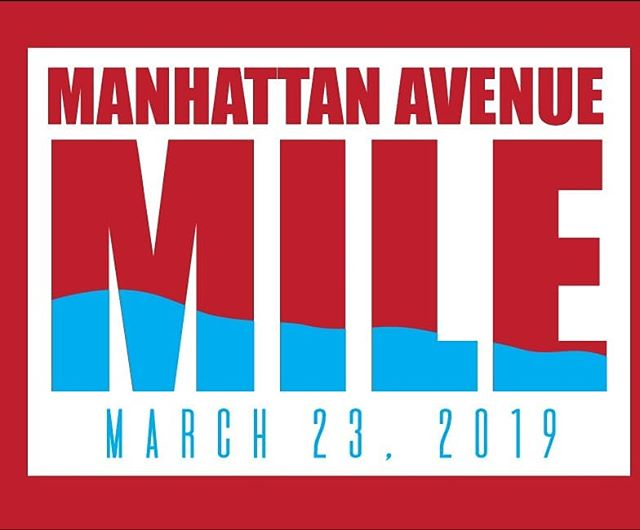 Manhattan Avenue Mile date changed to March 23rd! That mean more time to train!