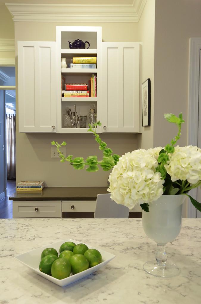 AFTER: Kitchen Desk