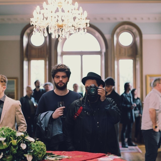 #stanley #kubrick #estate #selfie #in #the #dining #room