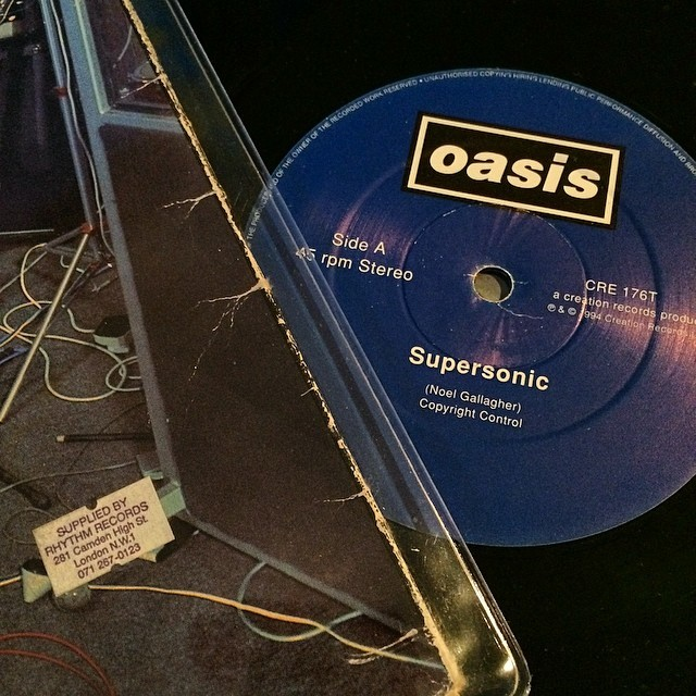"""#12"""" #supplied #by #rhythm #records #oasis #supersonic #20 #years"""