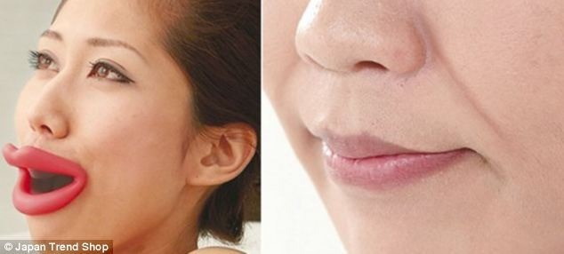 Japanese Rubber Lips for youthful appearance