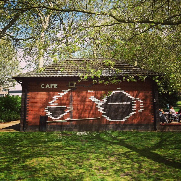 #cafe (at Island Gardens Cafe)