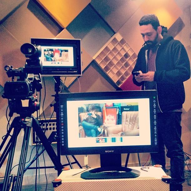 @santilafamilia #redbull #selfie (at Red Bull Studios London)