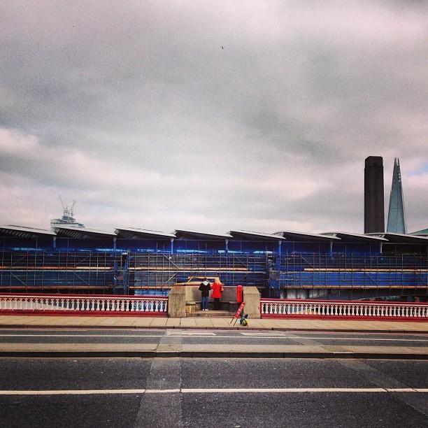 #shard#tate#london#blackfriars#bridge#station#closed (at Blackfriars Bridge)