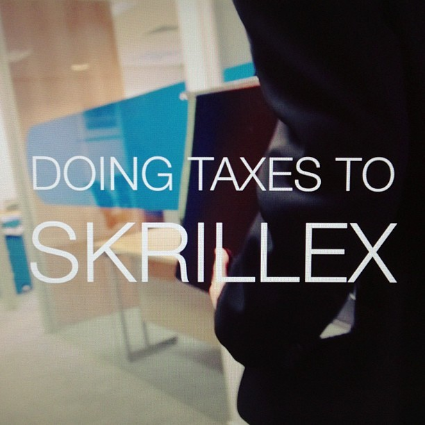 #new #video #out #today #skrillex #tax #return #coming #soon #accounting #comedy #corporate #with @mrdanielberg