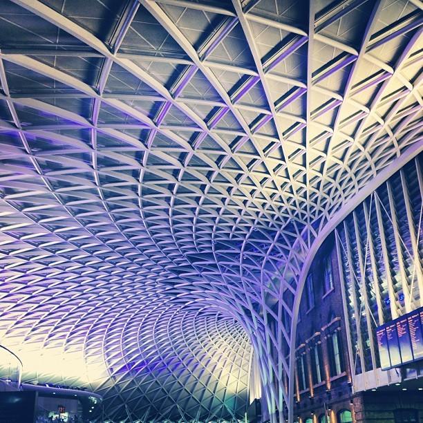kings cross? is that you? (Taken with  Instagram  at London King's Cross Railway Station (KGX))