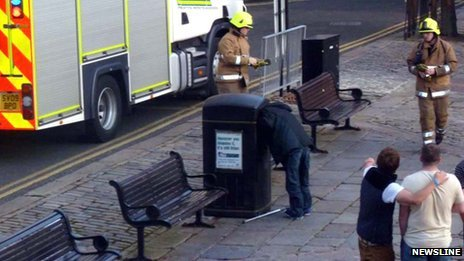 (via  BBC News - Man freed after getting his head stuck in bin in Aberdeen )