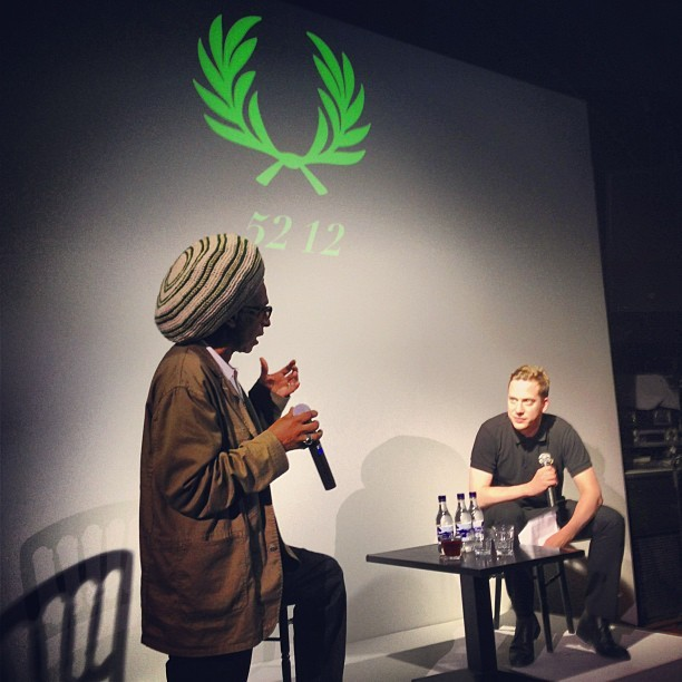 Don Letts / Fred Perry film (Taken with  Instagram )
