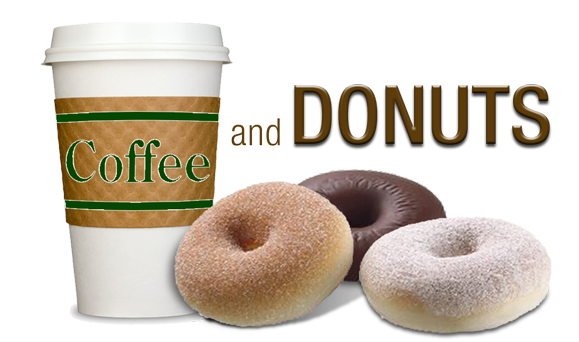 Free Morning Coffee & Donuts -