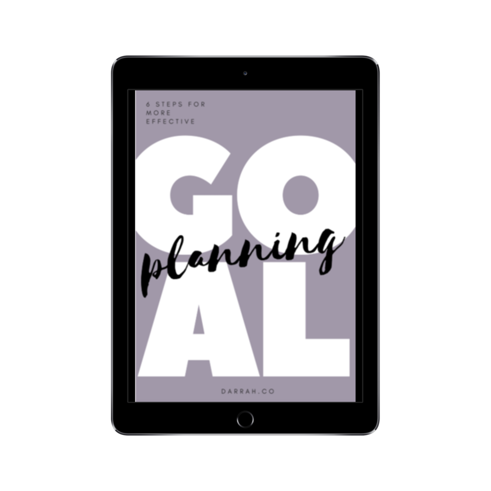 six steps for more effective goal planning -
