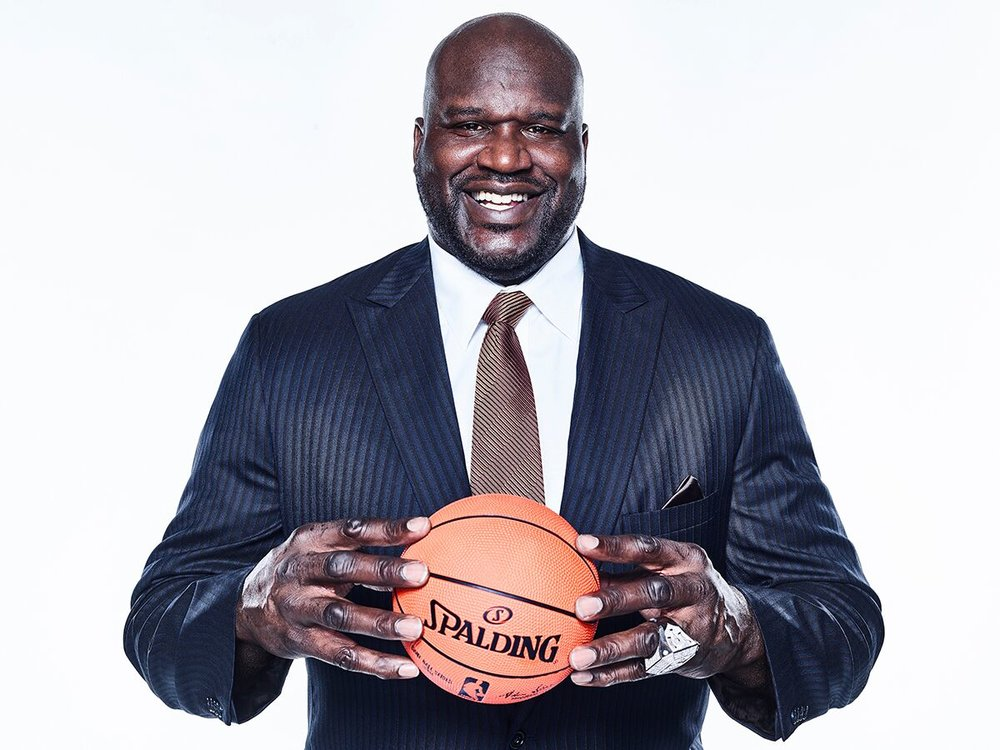 - Basketball Legend: Shaquille O'Neal