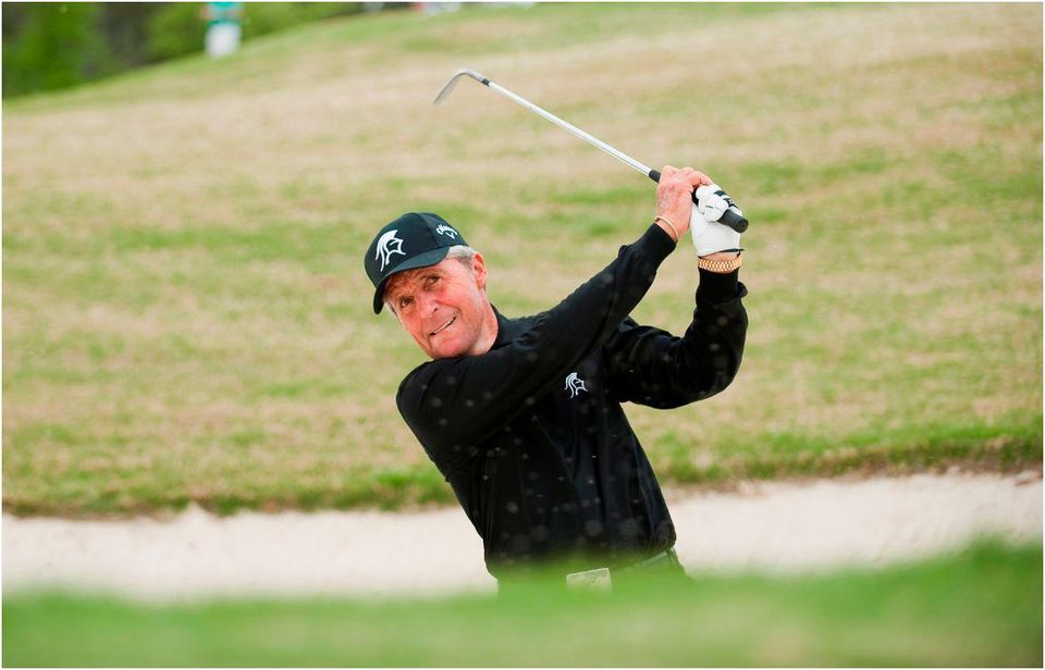 Gary Player is regarded as the world's greatest bunker player.  IMAGE COURTESY OF BLACK KNIGHT ARCHIVES