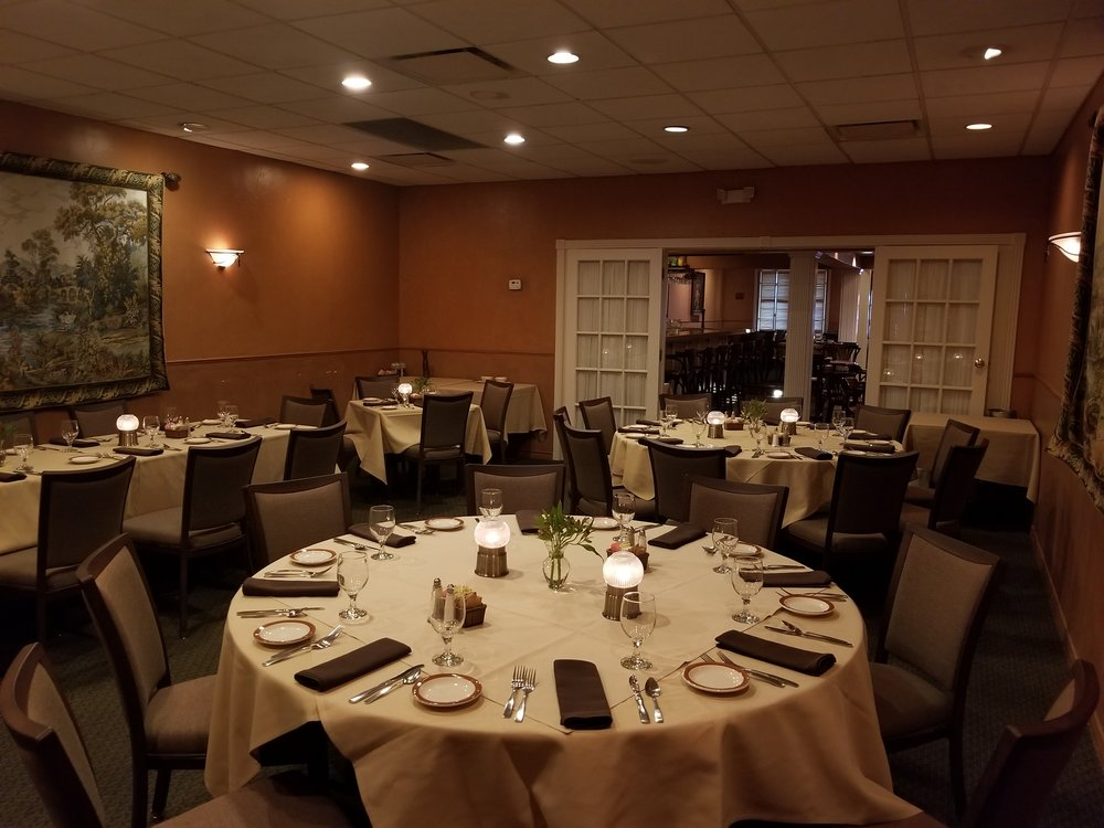 Make it a BIG night - Our Banquet Room is available for everything from business meetings to rehearsal dinners and celebratory parties!