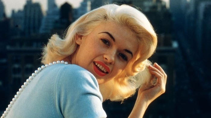 photo of Jayne Mansfield, standing in for the ever-so-camera-shy, Jayne Jablonski