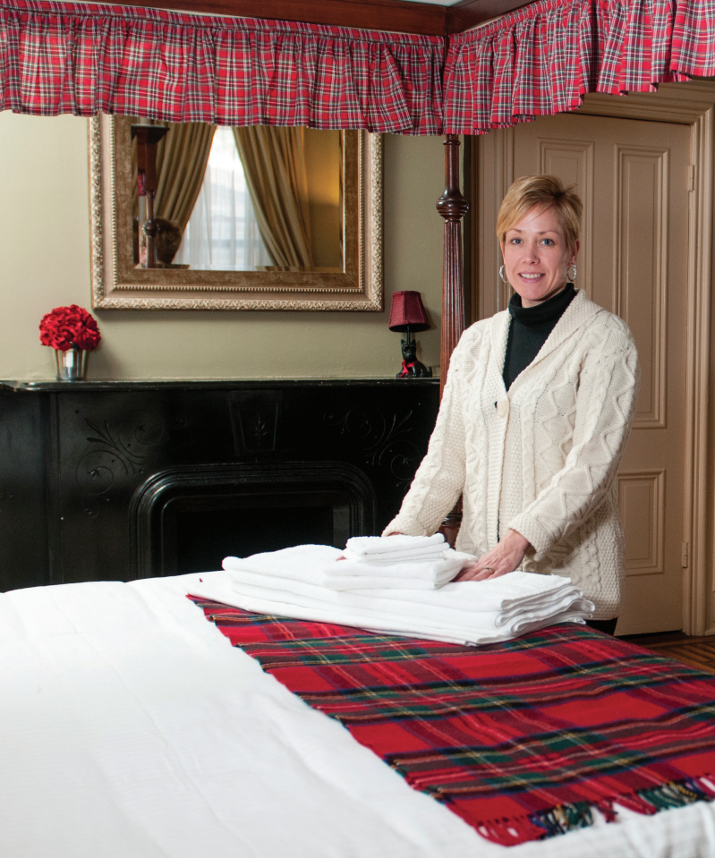 Picture of the owner of the Brae Lock Inn, hotel, bed and breakfast, bnb, lodging, rooms in Cazenovia, NY.