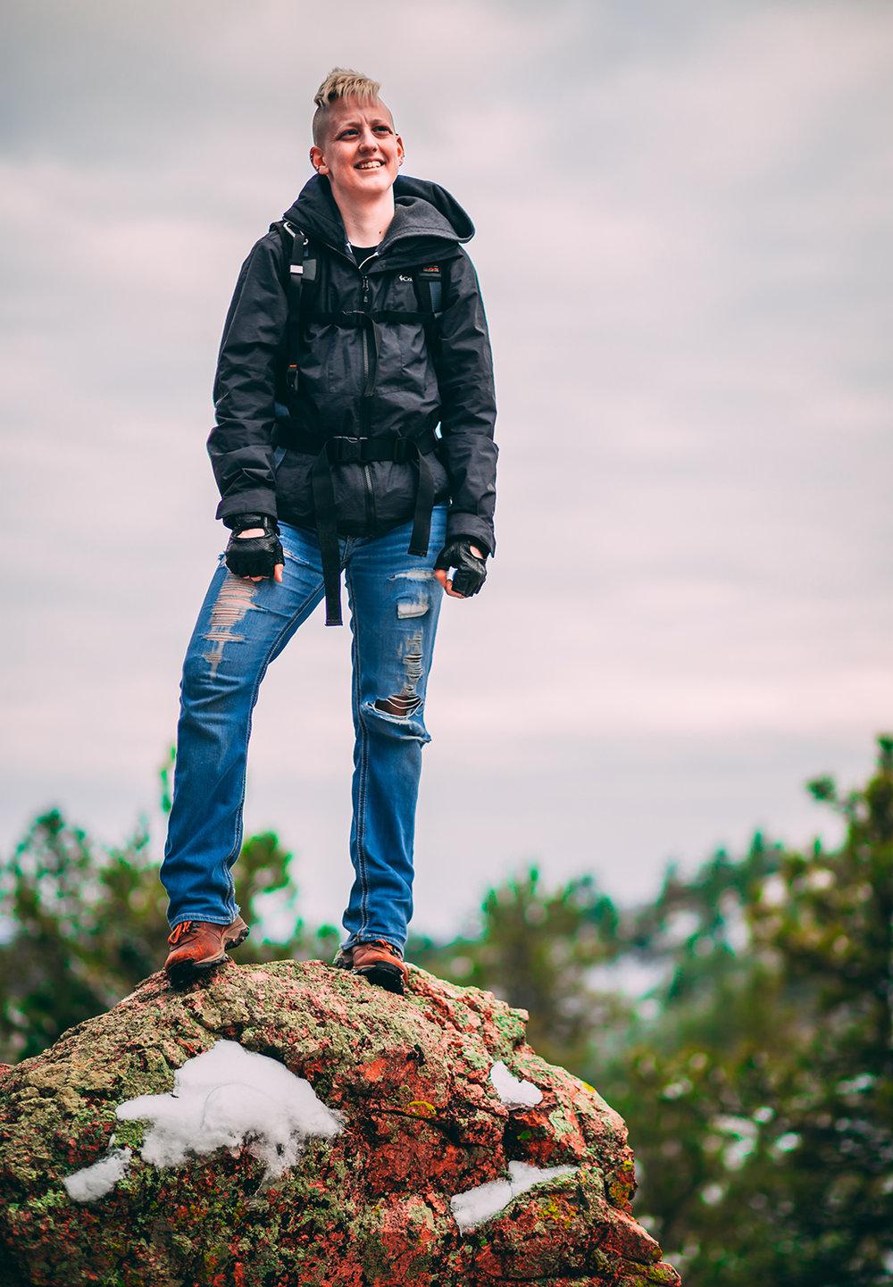 Colorado Photographer - Justice Simpson Portrait