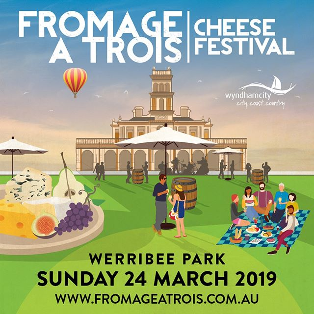 Burger Lovers ❤️ Cheese Lovers ❤️ Wine Lovers ❤️ We will be at the @fromageatroisfestival this Sunday 24th March!  Enjoy a cheesy pourover on your favourite burger from @realogburgers whilst soaking up the sun! Tickets can be purchased @fromageatroisfestival 🍔 🍷