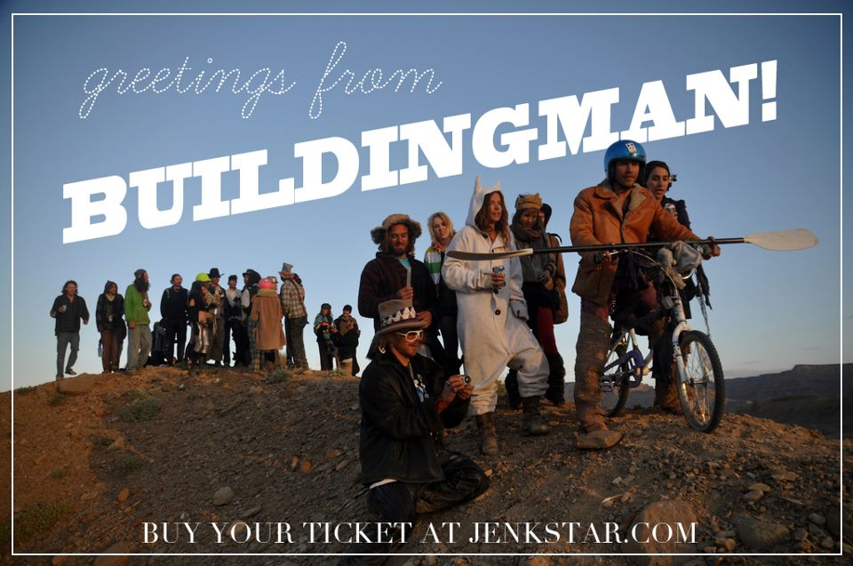Welcome to Buildingman, let's all hold hands and send a giant hug into the world! -