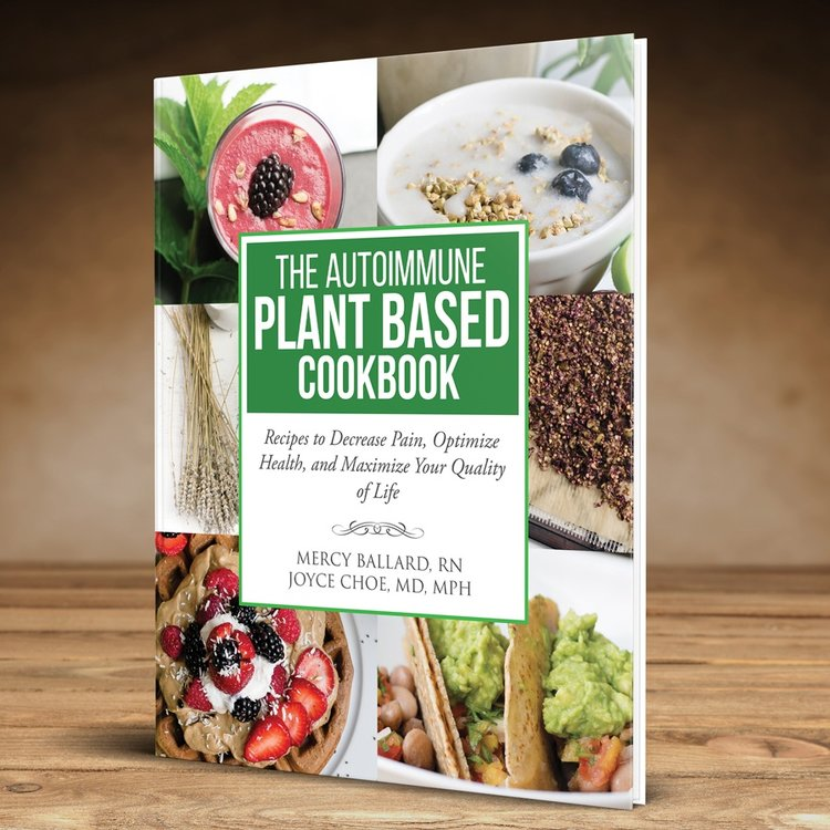 The Cookbook - The Autoimmune Plant Based Cookbook is available on Amazon and Kindle! Thank you for your amazing reviews and testimonials. We appreciate hearing from you!