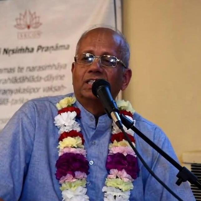 Samik Rsi Das (Dr. Shyam Sundar Mahajan)  disciple of    His Divine Grace A.C. Bhaktivedanta Swami Prabhupada
