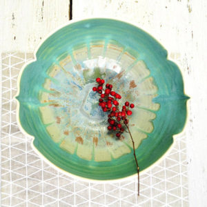Arabesque serving bowl by Lee Wolfe