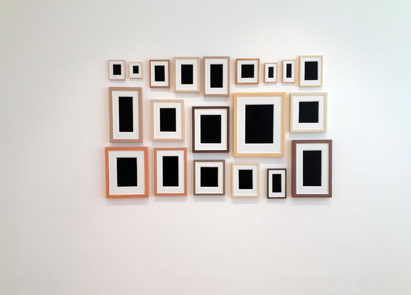 Twenty Plaster Surrogates by Allan McCollum, 1983-195