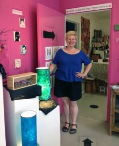 Studio A artist and designer, Andrea Kulish