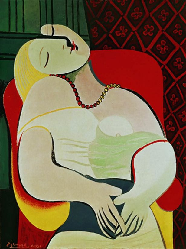 "Le Rêve (""The Dream""), 1932, Pablo Picasso"