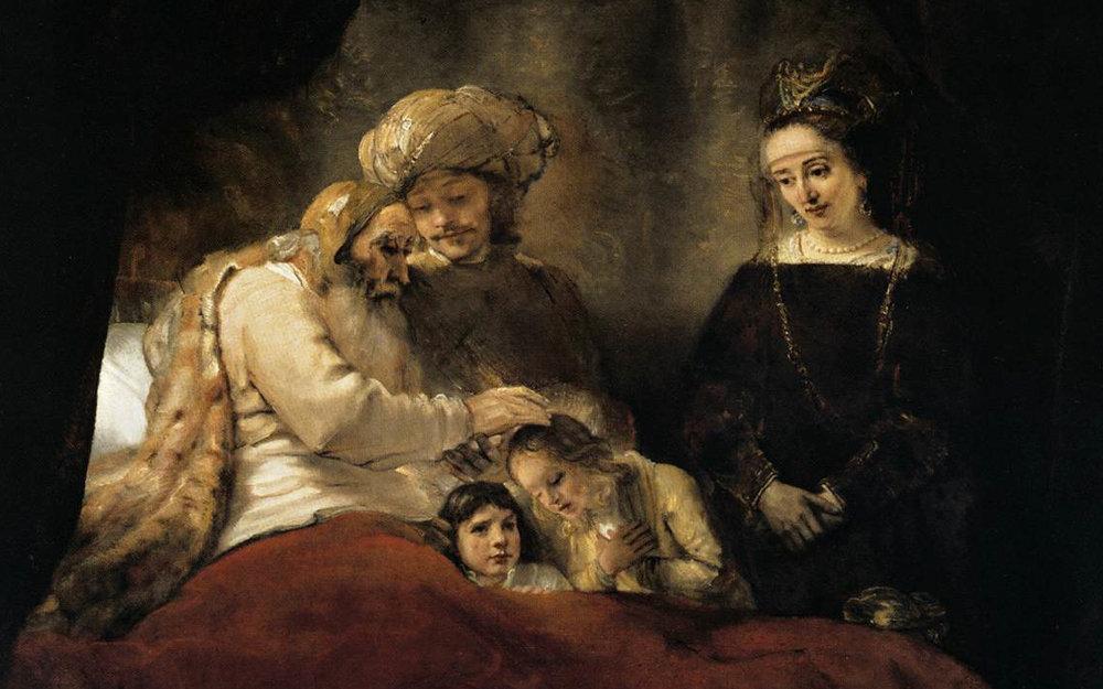 20131111-Rembrandt_-_Jacob_Blessing_the_Children_of_Joseph_-_WGA19117.jpg