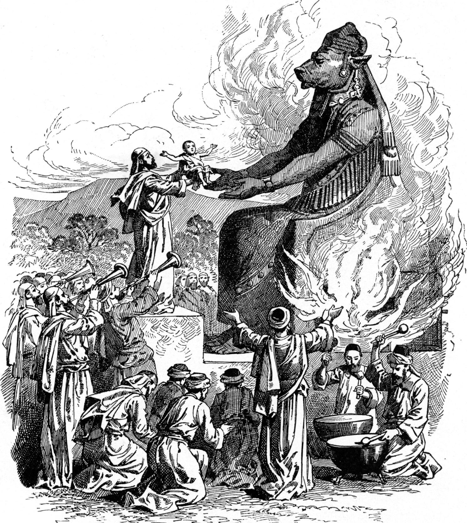 Offering to Molech